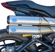 S And S Cycle Grand National 22 50 State Exhaust System Stainless Steel 550-0950b