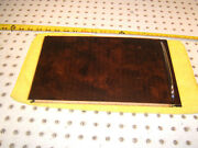 Mercedes W216 Cl Coupe Rear Center Console Bottom Burl Wood Rolling Oem 1 Cover