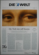 Jeff Koons Die Welt Collectorand039s Edition 2017 100 Copies Signed And Numbered