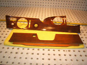Mercedes W114 280c 250c Coupe Front Dash Zebrano Wood Genuine 1 Set Of 3 Covers