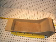 Mercedes Early W126 Sec Rear Parchment Open Style 1 Console And Ashtray,lighter,t1