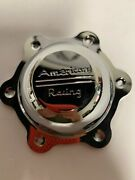 Used American Racing Wheels [32] Chrome Metal Center Cap 3565293ch Qty. 1