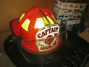 Beautiful Cairn Fire Helmet With Milwaukee Captain Local 215 Paul Conway Shield