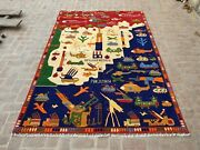 Gorgeous Tank Top Soviet War Carpetbeautiful Large Area Size War Helicopter Rug