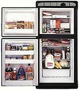 Norcold 2 Way Refrigerator Flush Mount Built-in Self Venting 2 Door1.7 Cubic