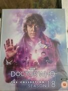Doctor Who The Collection Season 18 Blu-ray Limited Edition Brand New Tom Baker