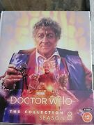 Doctor Who The Collection Season 8 Blu-ray Limited Edition Brand New Jon Pertwee