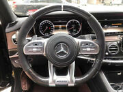 New Amg Carbon Fiber Flat Custom Steering Wheel For Mercedes-benz Amg Old To New