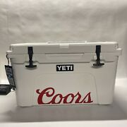 Yeti Tundra 45 Hard Cooler - Coors Limited Edition Rare - Brand New W/ Tags
