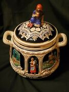 Rare Marzi And Amp Remy German Historical Sites Castles Cookie Jar/humidor Stein