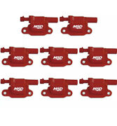 Msd 82658 Blaster Ls Coil For 05-13 Gm Ls2/3/4/7/9 Engines Single 8-pack