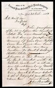 1860 Texas And New Orleans Railroad Co --- Vintage Letter Head Extremely Rare