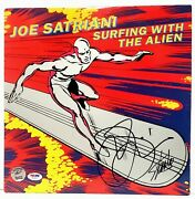 Surfing With An Alien Album Signed Stan Lee And Joe Satriani Psa/dna Silver