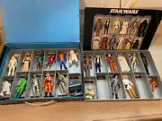 Vintage Star Wars Action Figure Lot 1977-78 The First 21 W/ Case, Insert + Yoda