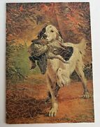 Vintage Wooden Jigsaw Puzzle 398 Pcs A Proud Moment Noninterlocking Hunting