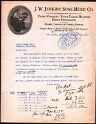 1915 Fort Smith - J W Jenkins Sons Music Co - Victor Talking Machine Letter Head