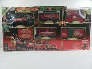 Santa Express Christmas Train Set Eztec 35 Piece Radio Controlled Tested And Works