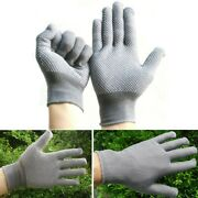 Driving Gloves Soft Sports 2pcs Breathable Full Finger Ice Silk Mens Motorcycle