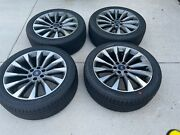 Ford/lincoln 22 X 9.5 Wheels With Goodyear Tires - Off A Lincoln Navigator
