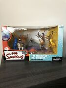 Mcfarlane Toys The Simpsons The Island Of Dr Hibbert Deluxe Boxed Set Thoh 2006