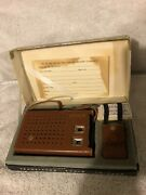 Hitachi Th 862 R Vintage Am Transistor 8 Radio Japan Complete With Box Clean