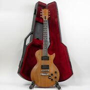 1979 Gibson The Paul Electric Guitar With Chainsaw Case - Natural