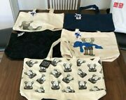 Kaws Summer Uniqlo Sesame Street Five Tote Bags Tokyo First Very Rare Tagged