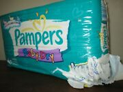 Vintage Pampers Baby Dry Diapers - Size 1 - 40ct