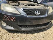2006 2007 2008 Lexus Is250 Front Bumper Assembly Gray W/o Headlamp Washers 65802
