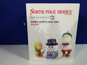 Dept 56 North Pole Village Another Perfect Snow Cone 4030726 Brand New