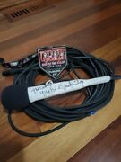 Kiss Paul Stanley Stage Used Signed Microphone Experience 9-18-21 Gorge Wa
