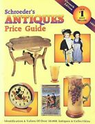 Schroeder's Antiques Price Guide Identification And Values Of Over 50,000 Antiq