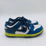 Nike Dunk Low Ng Jr. Boyandrsquos Soft Spike Golf Cleat Shoes 484715-102 Gs 2y