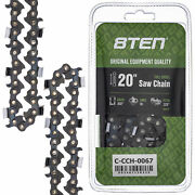 Full Chisel Chainsaw Chain 20 Inch .050 .325 78dl For Husqvarna 455 Rancher