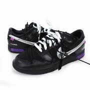 Us10.5 Nike Off-white Off White Dunk Low Of 50 Rho Lot Sneaker Us Black