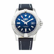 Breitling Avenger Auto 43mm Steel Mens Strap Watch Date A17318101c1x1