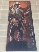Sideshow Collectibles Boba Fett Banner Large 30 X 72 Rare Hard To Find Retail
