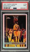 1997 Topps Chrome Refractor Shaquille Oand039neal Shaq 109 Psa 9 Mint