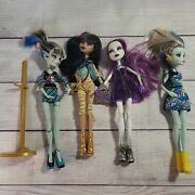 Monster High Doll Loose Lot Of 4