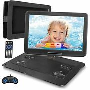16.9'' Portable Dvd Player With 14.1'' Hd Swivel Screen Car Dvd Player