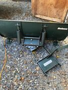 Bolens Gt 2000 Tractor Snow Plow Or Quad Four Wheeler 48andrdquo Snow Plow - Great Cond