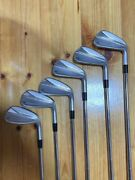 2021 Taylormade P790 Irons 6 Sets 5-p Modus 105 S W/warranty Card From Japan