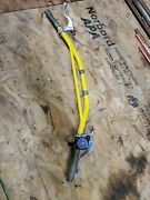 1978 1979 Handle Bar Handlebar Suzuki Rm125 Rm250 With Throttle And Lever Controls