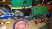 Htf Oliver Row Crop 70 Scale Model Dyersville Iowa Narrow Front Pedal Tractor