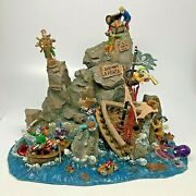 Lemax Spooky Town Dead Manand039s Point 2007 W/original Box 73638 Table Accent