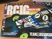 Team Associated Rc10 Worlds Car Rerelease New In Box