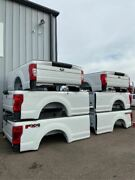 New 2017 2018 2019 Ford F250 F350 8 Foot Long Truck Bed Box 8and039 White