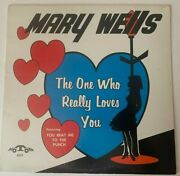Mary Wells Lp The One Who Really Loves You Motown 605 Orig 1st Press Nm/vg++