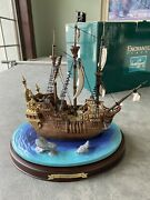 """Wdcc Enchanted Places Peter Pan """"the Jolly Roger"""" 5304/10,000 Walt Disney"""