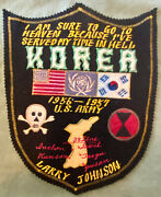 Post Korean War Large Personalized Army Embroidered Jacket Patch 7th Infantry
